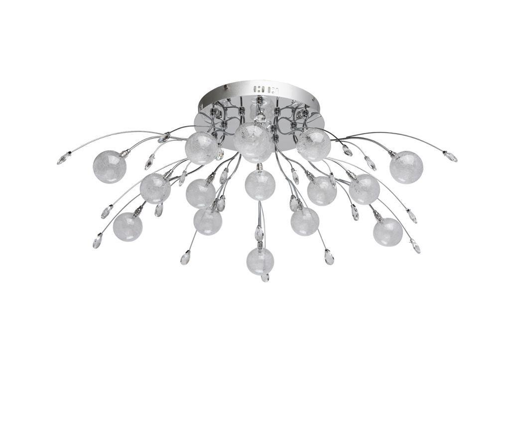 Lustra Amelia Balls - Classic Lighting, Gri & Argintiu imagine