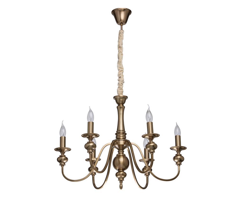 Lustra Consuelo - Classic Lighting, Galben & Auriu imagine