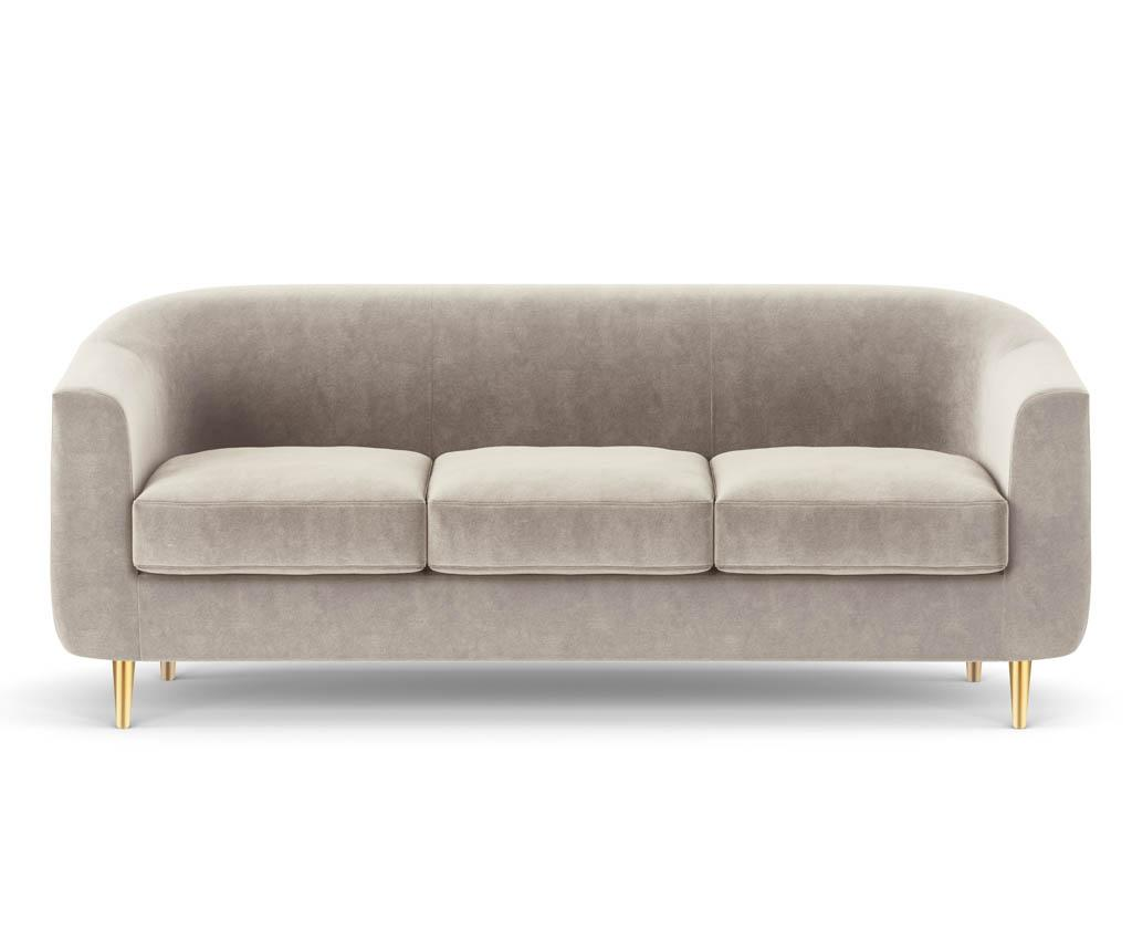 Canapea 3 locuri Tact Beige - Kooko Home
