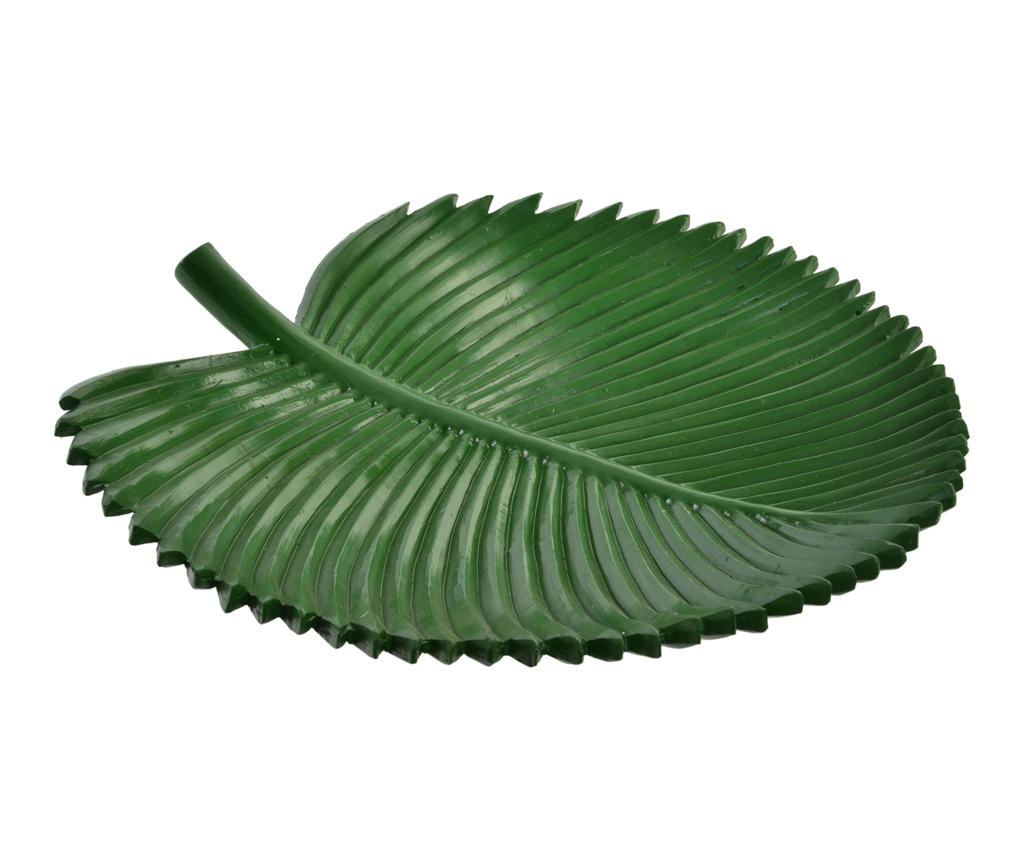 Platou decorativ Green Sheet