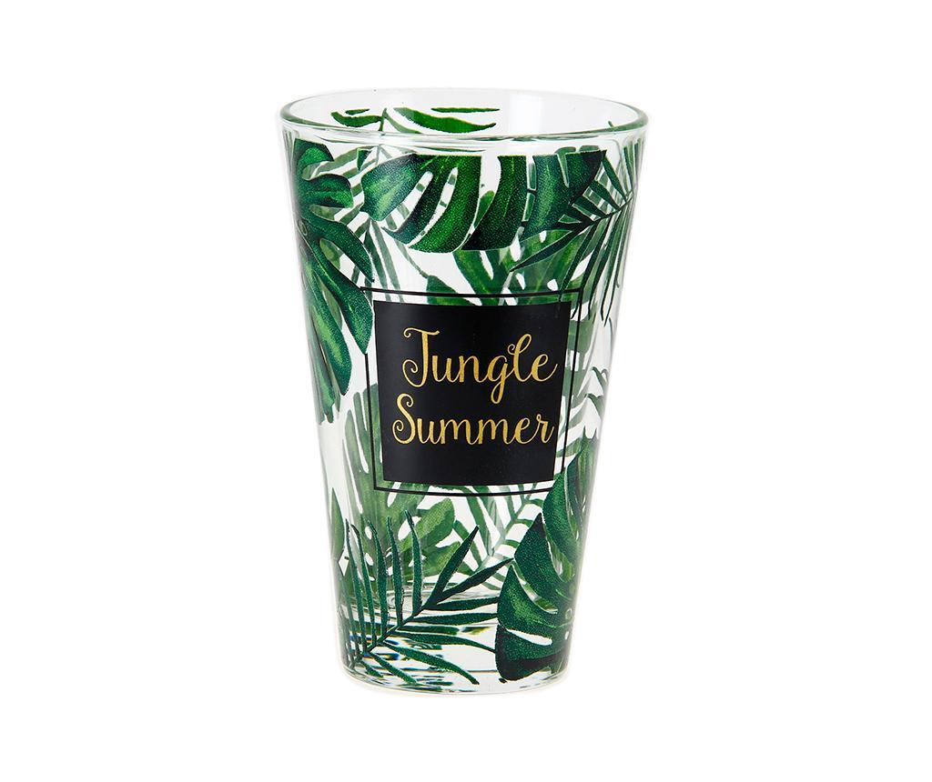 Set 3 pahare Nadia Jungle 310 ml
