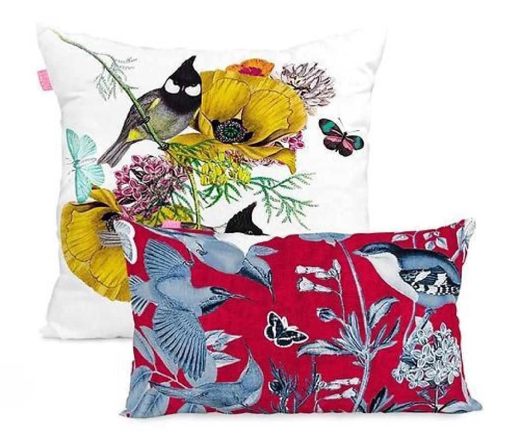 Set 2 fete de perna Birds of Paradise