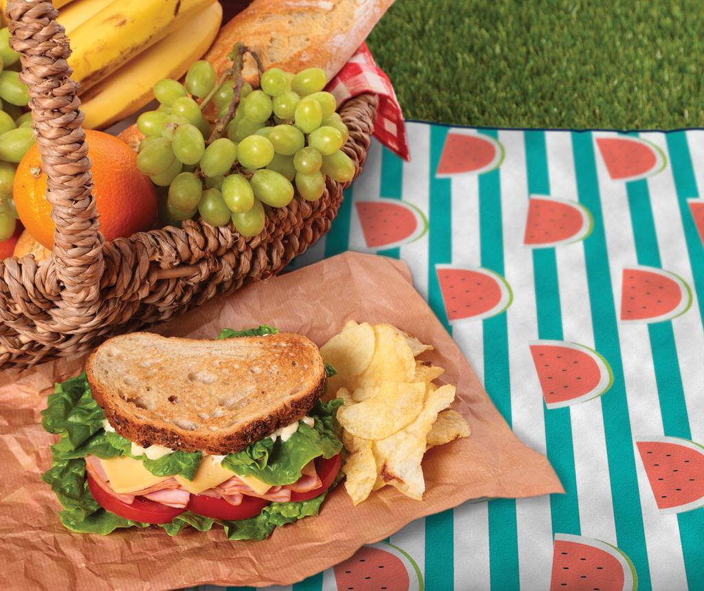 Patura pentru picnic Watermelons 127x152 cm