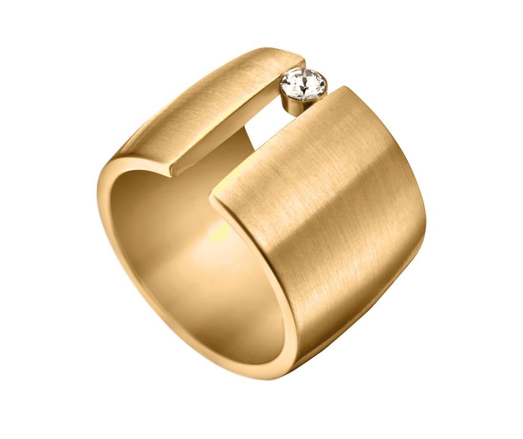 Inel Esprit Onda Gold Tone 18 mm