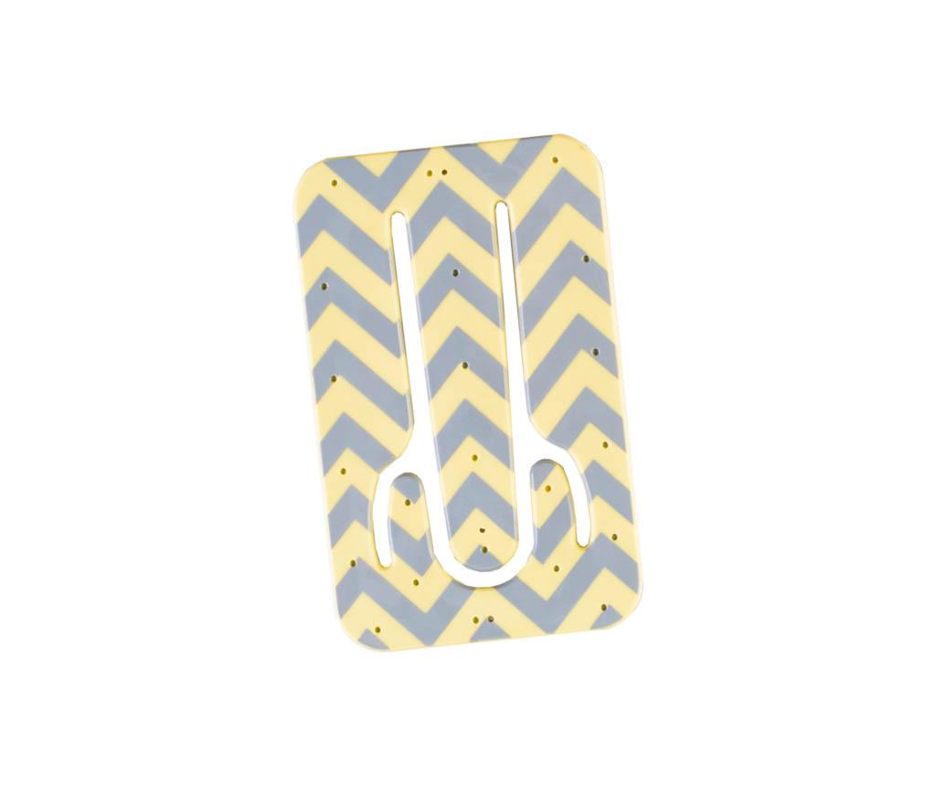 Stojan na mobil Flexistand Yellow Chevron