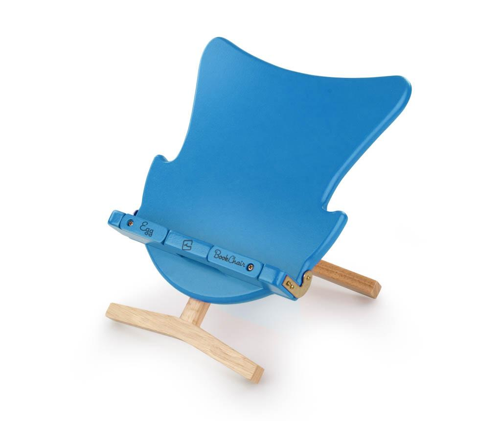 Obal na knihu Egg Bookchair Blue