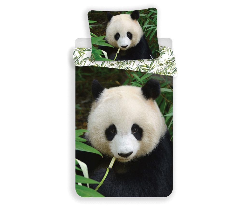 Set de pat Single Panda imagine