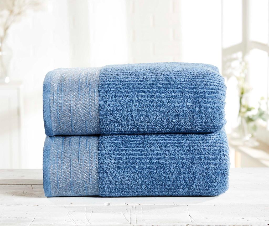 Set 2 prosoape de baie Mayfair Denim
