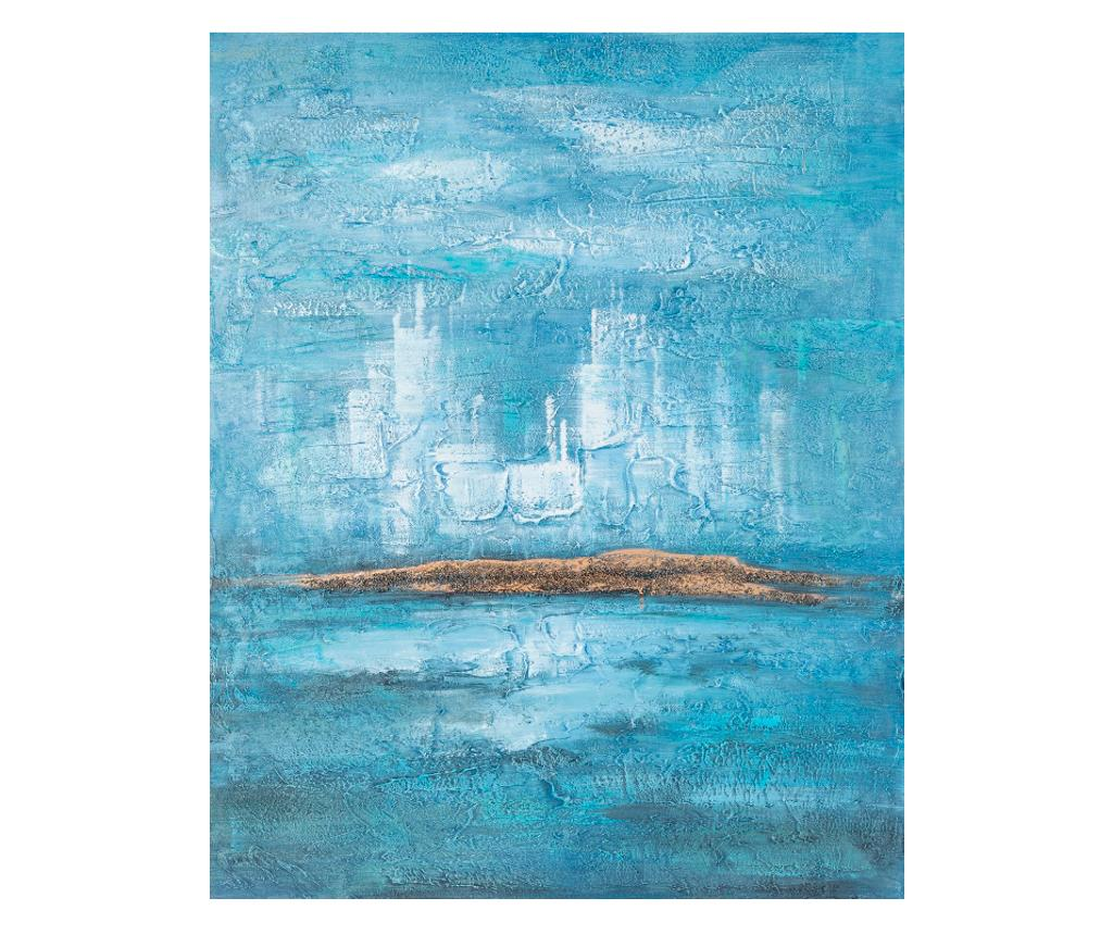 Tablou Island 80x100 cm - Eurofirany, Multicolor imagine