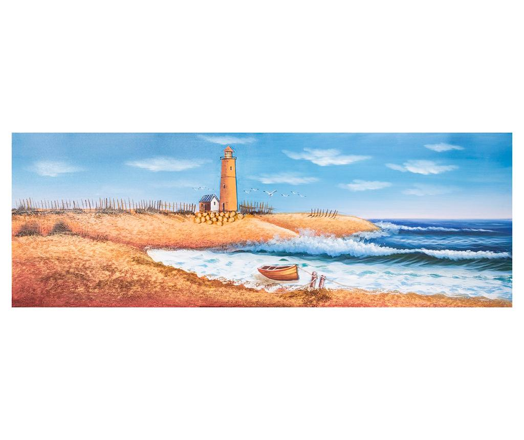 Tablou Lighthouse 50x150 cm - Eurofirany, Multicolor imagine