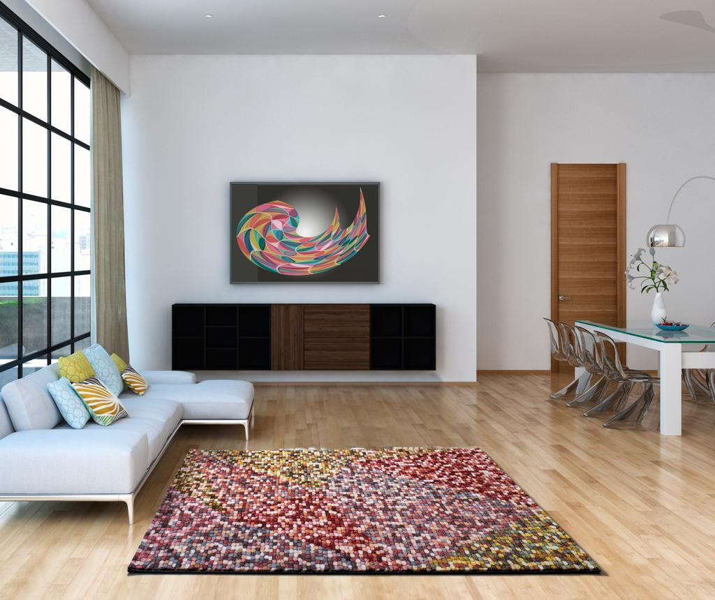 Covor Pandora Multicolor 60x120 cm