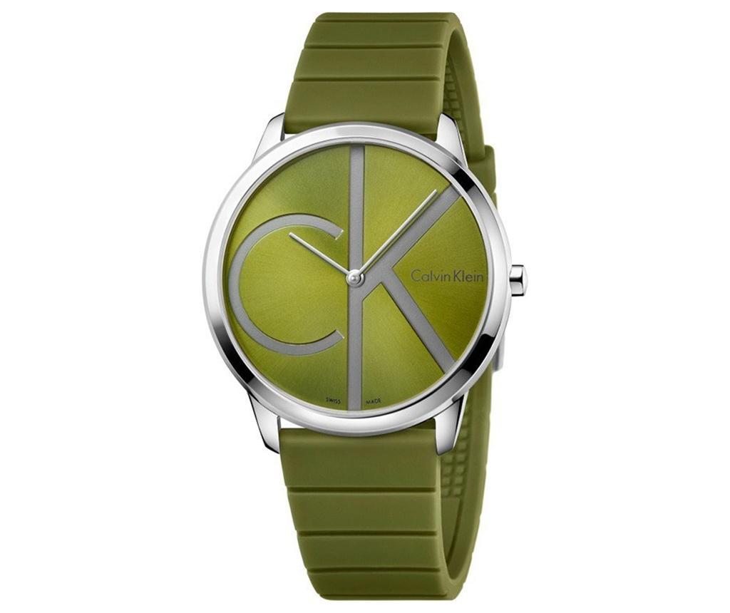 Ceas de mana barbati Calvin Klein Minimal Green and Green