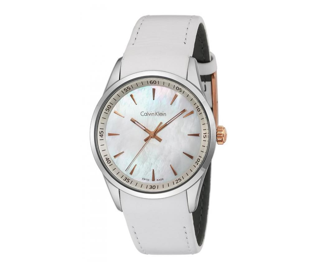Ceas de mana unisex Calvin Klein Bold Mother Of Pearl and White