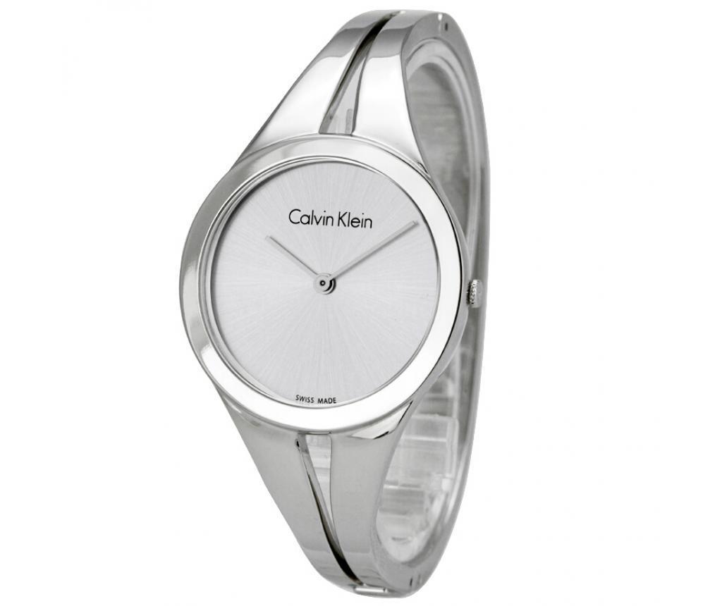 Ceas de mana dama Calvin Klein Addict Silver and Silver Small
