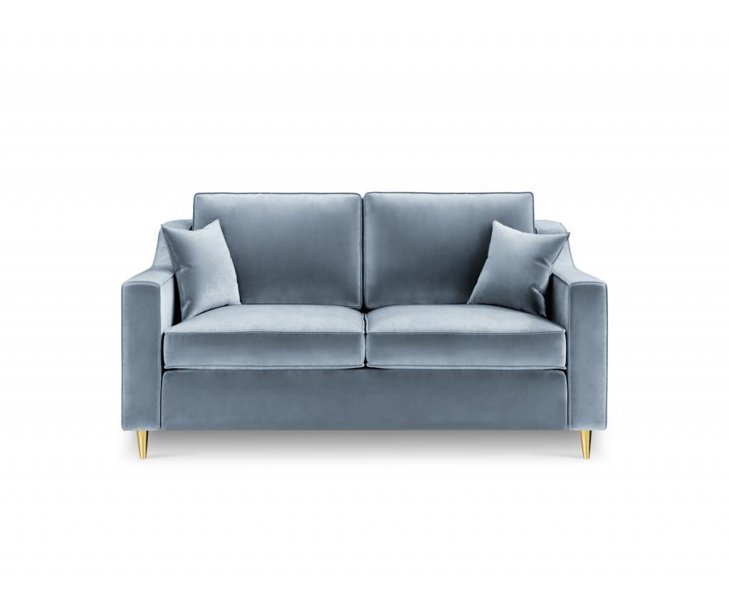 Canapea 2 Locuri Marigold Gray-blue