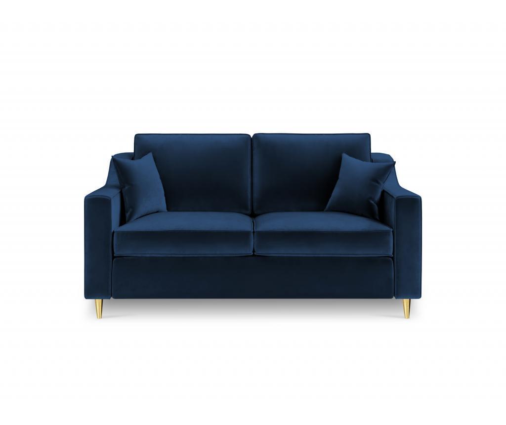 Canapea 2 locuri Marigold Royal Blue imagine