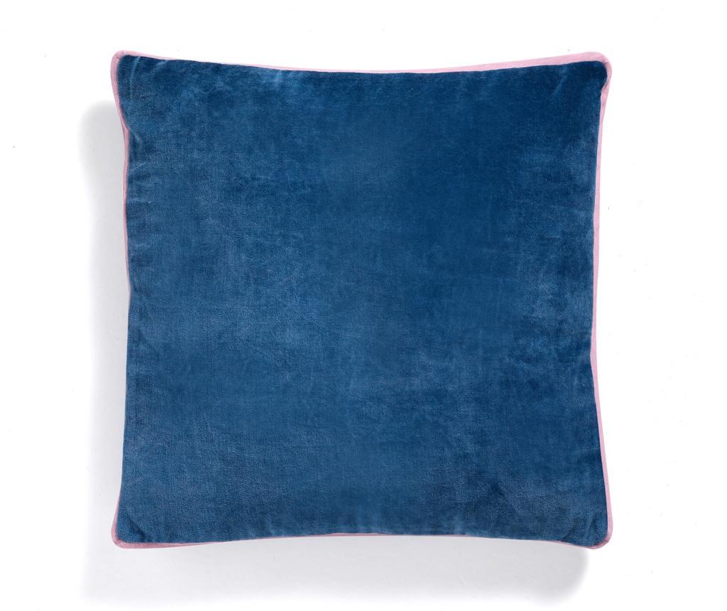 Perna decorativa Orienta 45x45 cm - Oresteluchetta, Albastru,Roz