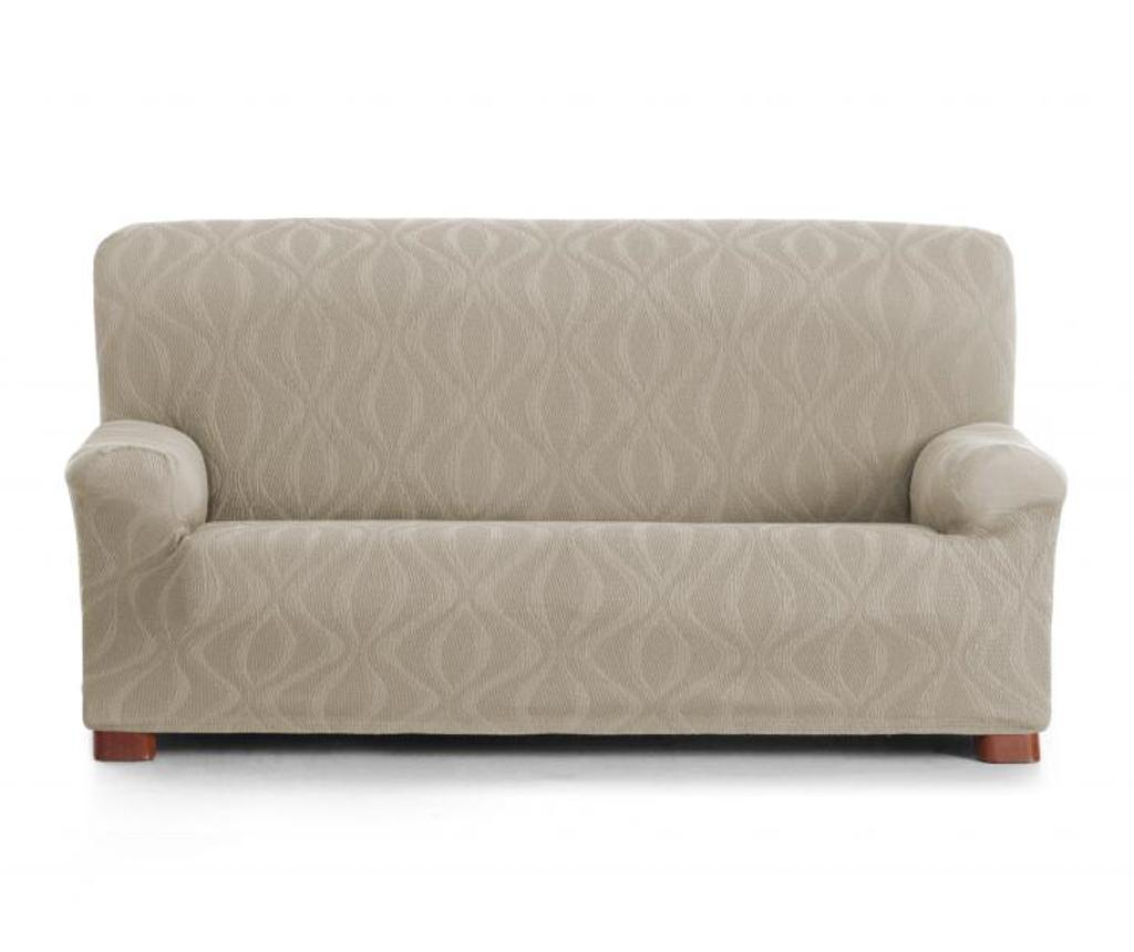 Husa pentru canapea Iria Ecru 220-240 cm - Eysa, Crem imagine