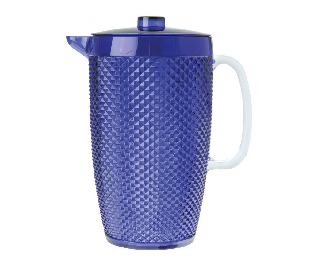Carafa Diamond Blue 2.5 L - Excelsa, Albastru poza