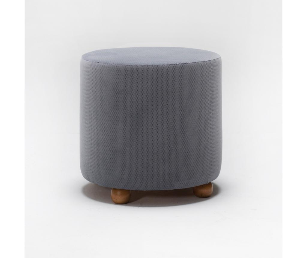 Taburet Mario Grey - Balcab Home imagine