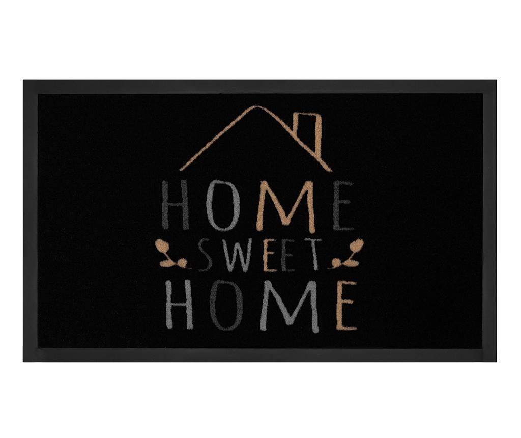 Covoras de intrare Printy Home Black Creme 45x75 cm - Hanse Home, Multicolor