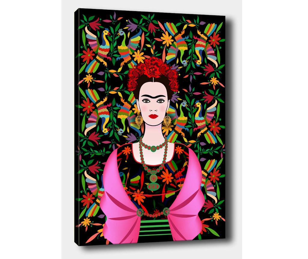 Tablou Frida Dark 50x70 cm - Tablo Center, Multicolor imagine