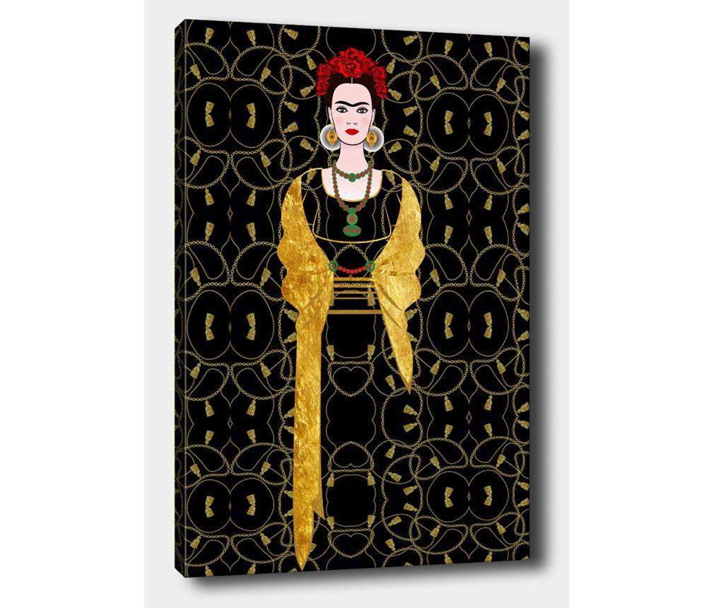 Tablou Frida Elegance 70x100 cm - Tablo Center, Multicolor imagine