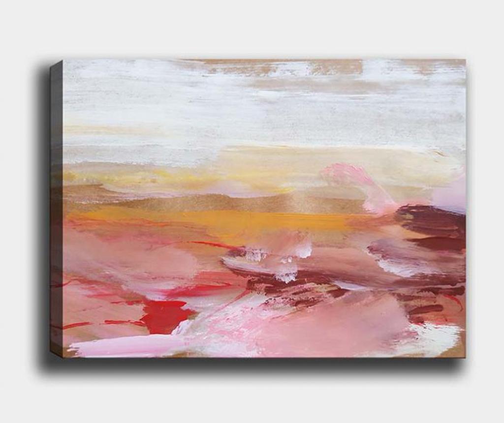 Tablou Abstract Dawn 70x100 cm - Tablo Center, Multicolor imagine