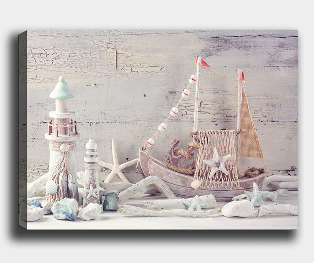 Tablou Marine Vintage 50x70 cm - Tablo Center, Multicolor imagine