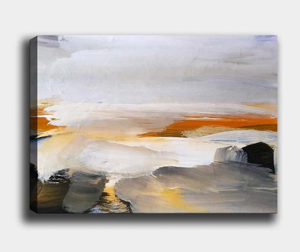 Tablou Sunset 70x100 cm - Tablo Center, Multicolor imagine