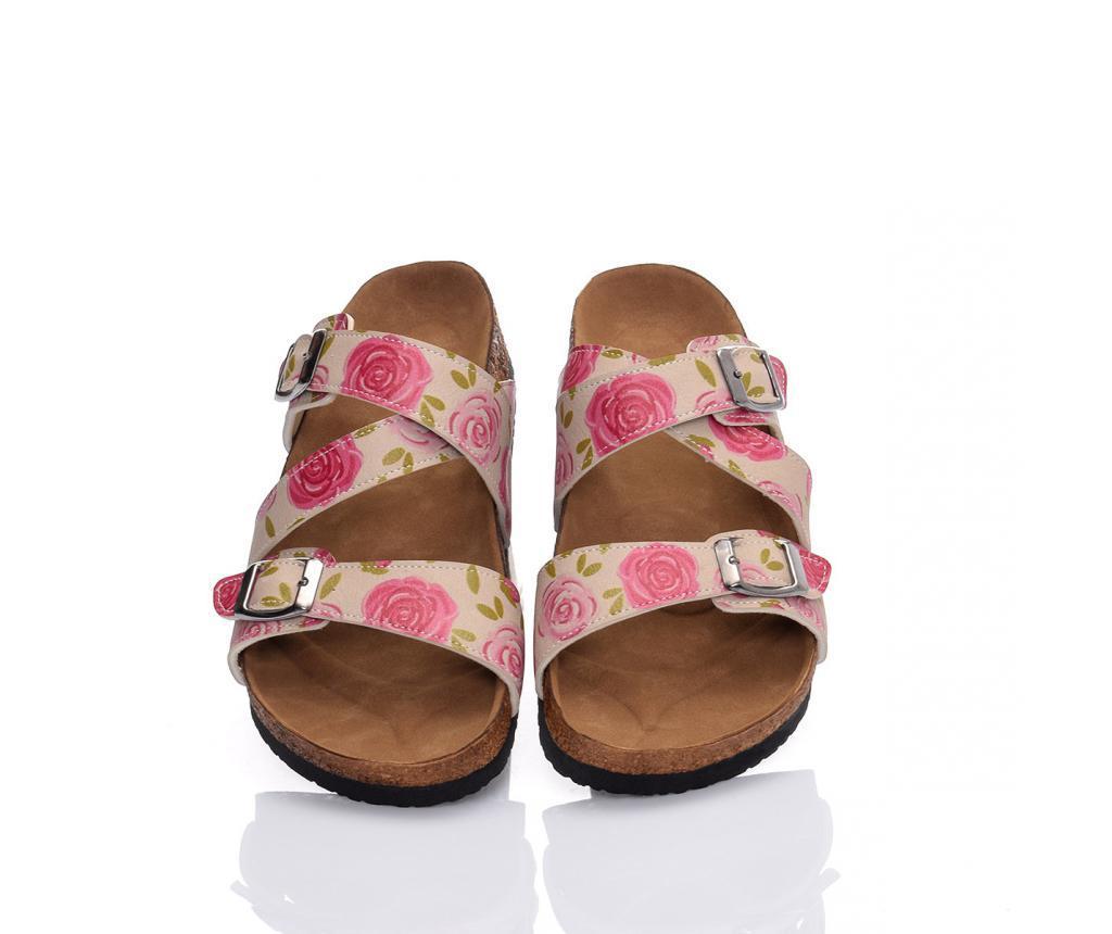 Papuci dama Roses 40 - CELLA, Multicolor poza