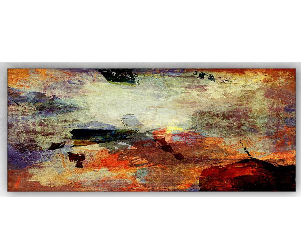 Tablou Orange Pattern 60x140 cm vivre.ro