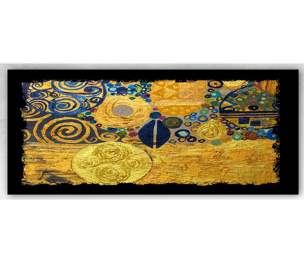 Tablou Klimt Style 60x140 cm - Tablo Center, Multicolor imagine
