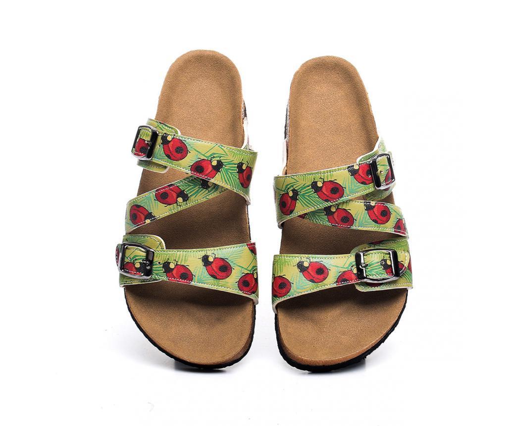 Papuci dama Ladybug 37