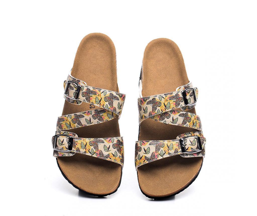 Papuci dama Butterflies 37