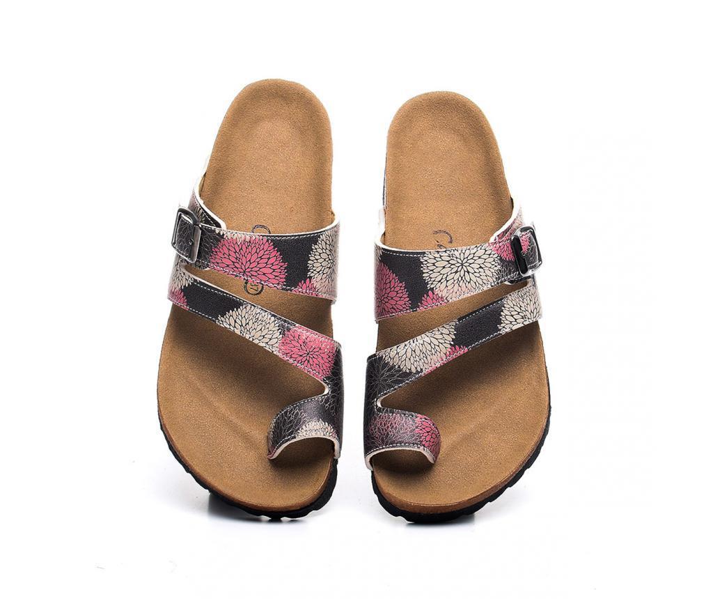 Papuci dama Hydrangea 39 - CELLA, Multicolor