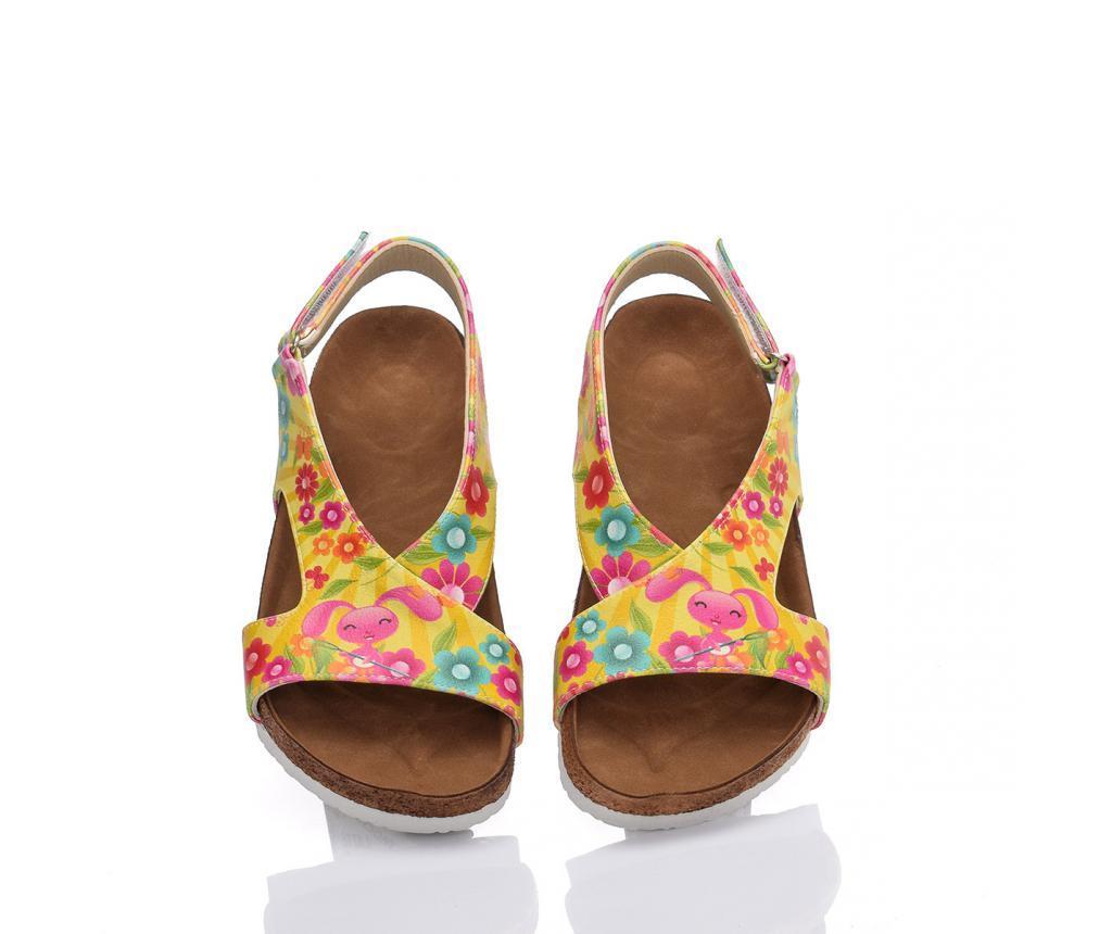Sandale dama Bunny Flowers 38