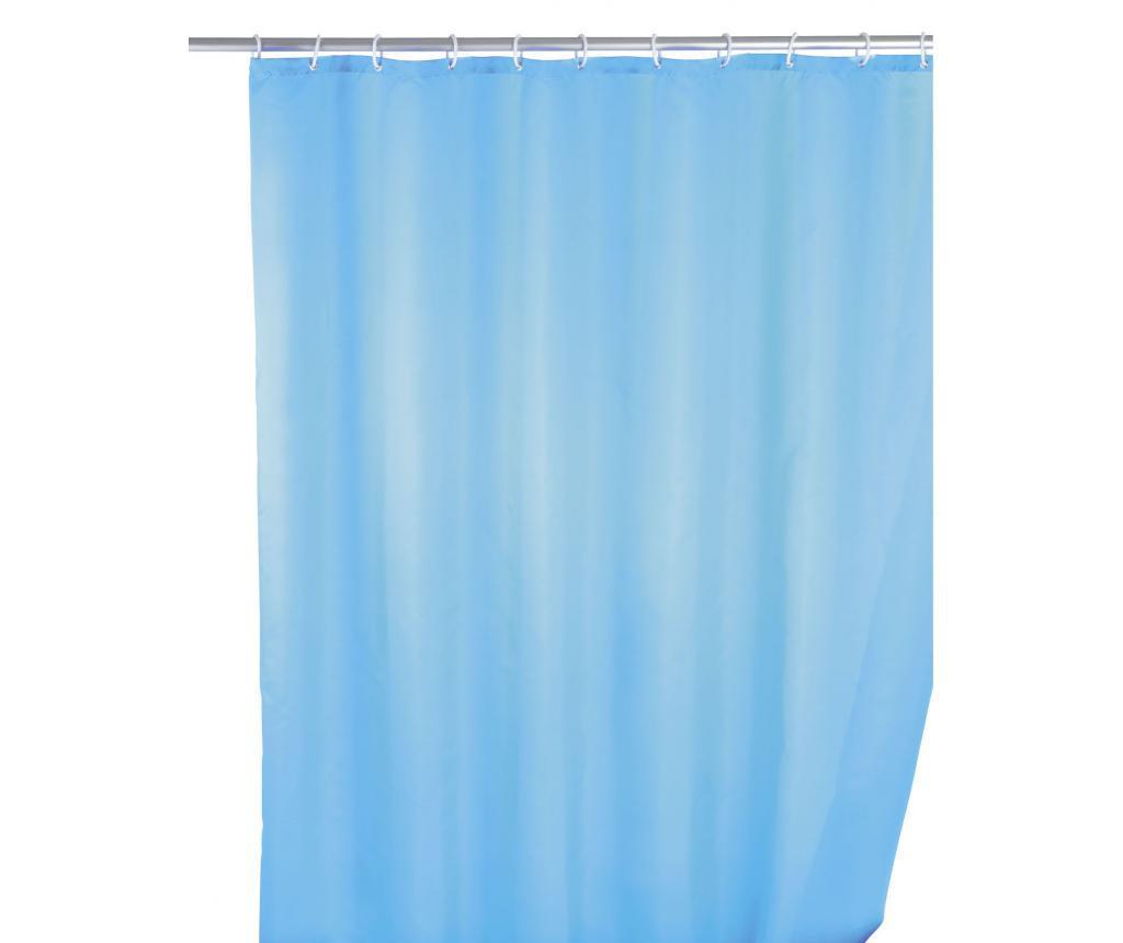 Perdea de dus Kim Blue 180x200 cm - Wenko, Albastru poza