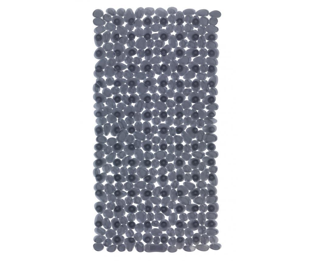 Covoras pentru cada Paradise Anthracite 36x71 cm - Wenko, Gri & Argintiu