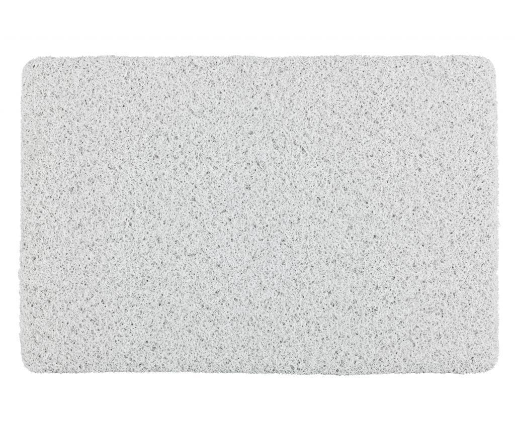 Covoras de baie Loop White 40x60 cm - Wenko, Alb