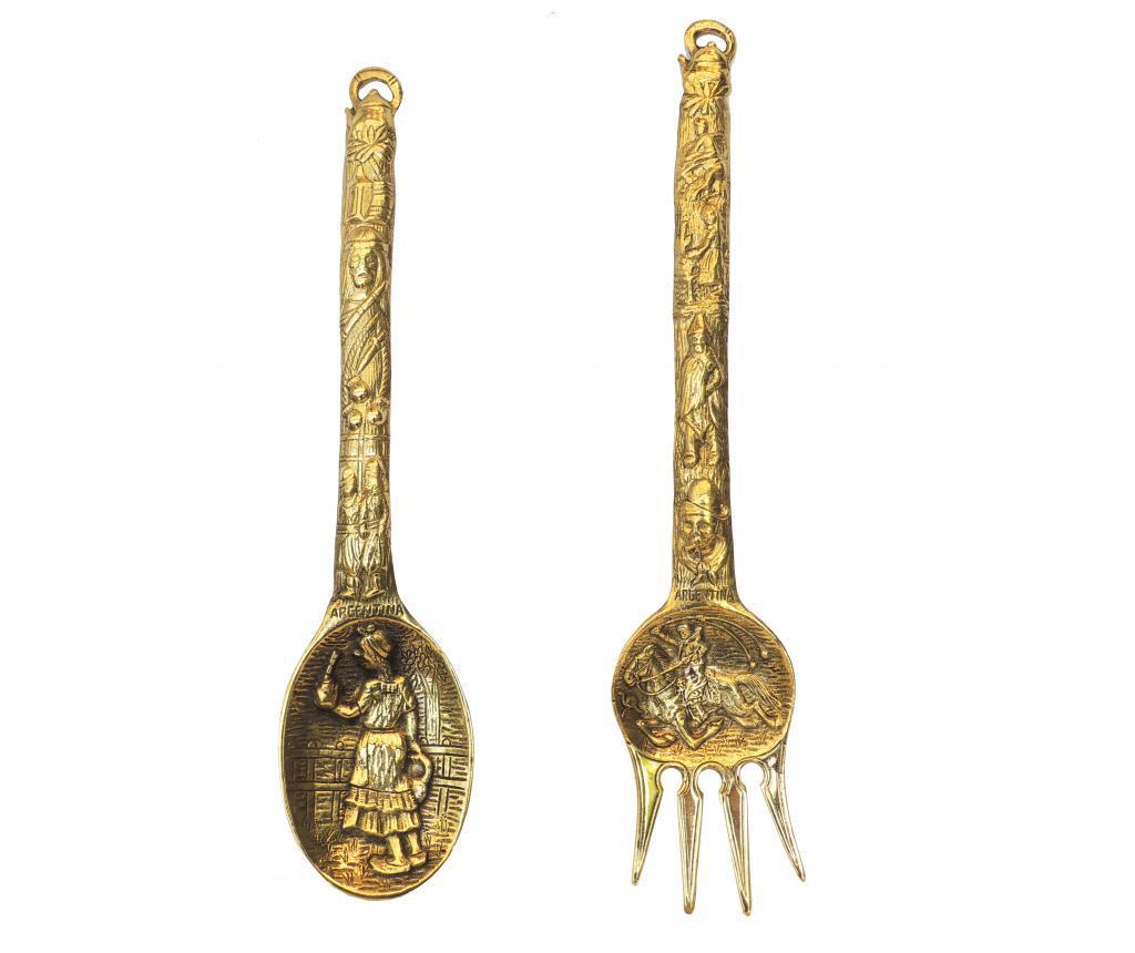 Set 2 tacamuri decorative - Bolzonella, Maro poza