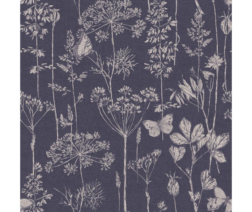 Tapet Meadow Floral Indigo 53x1005 cm - Arthouse poza