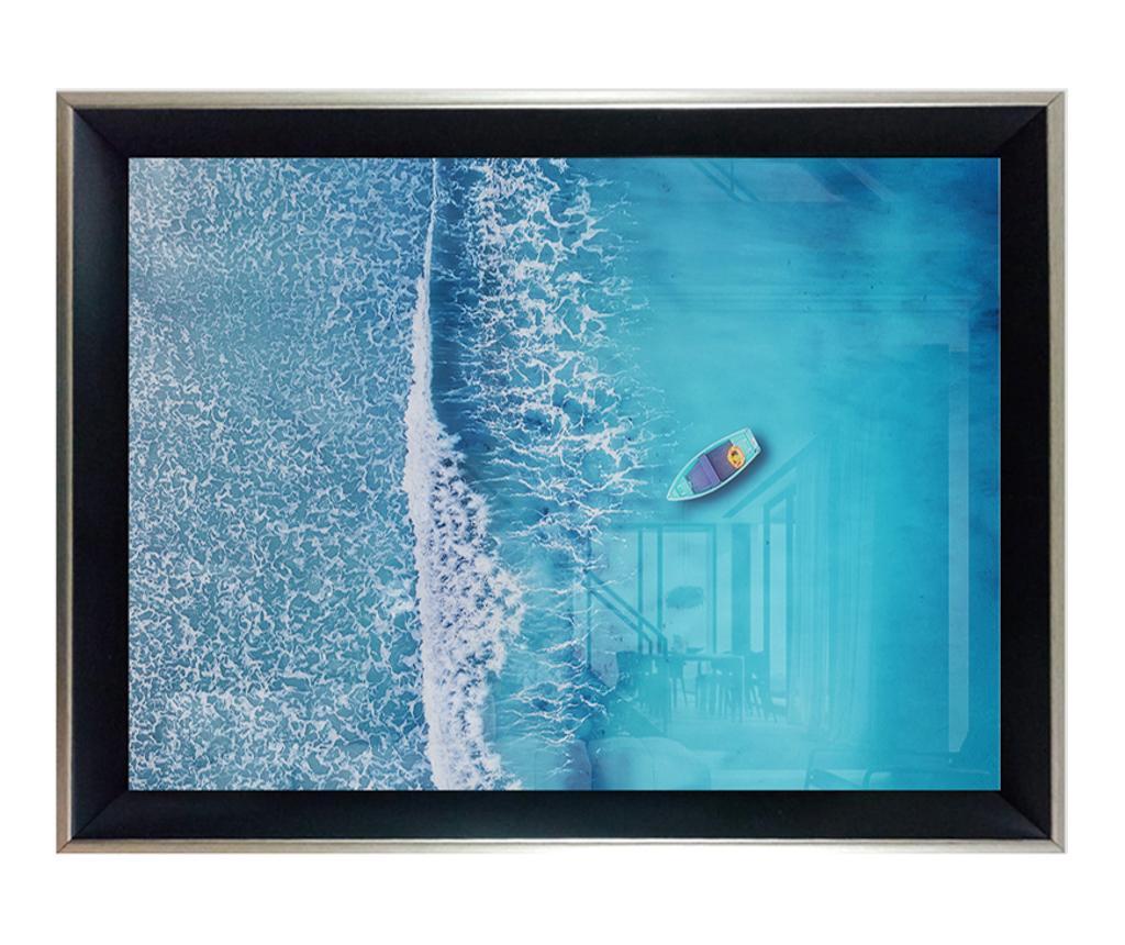 Tablou Glassy 35x45 cm - Tablo Center, Multicolor imagine