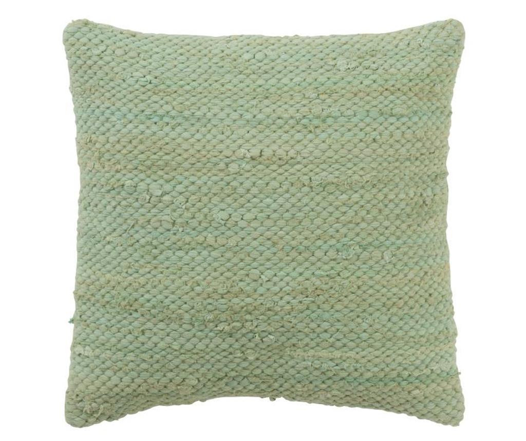 Perna decorativa - J-line, Verde poza