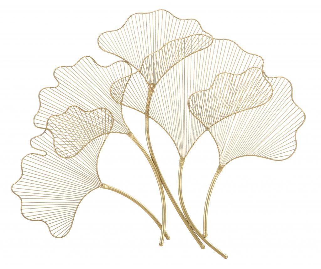 Decoratiune de perete Glam Leaf - Mauro Ferretti imagine