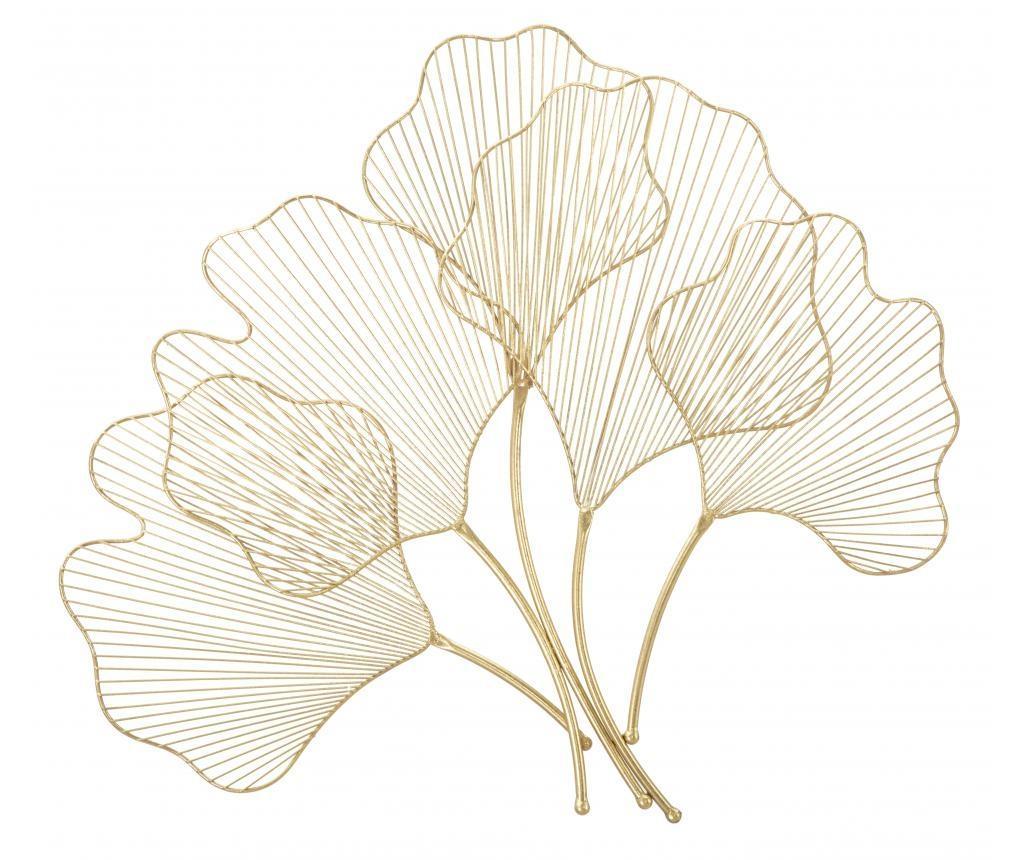 Decoratiune de perete Glam Leaf