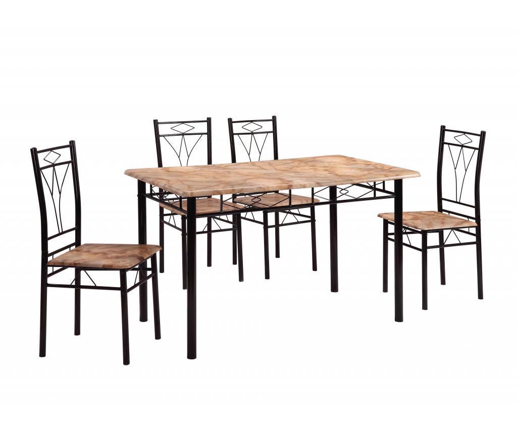 Set masa si 4 scaune pentru exterior Vera Multi vivre.ro