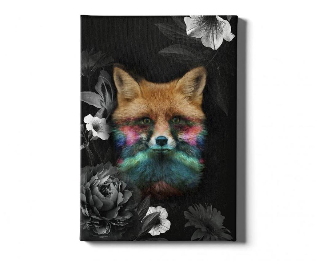 Tablou Fox 40x60 cm - Tablo Center, Multicolor imagine