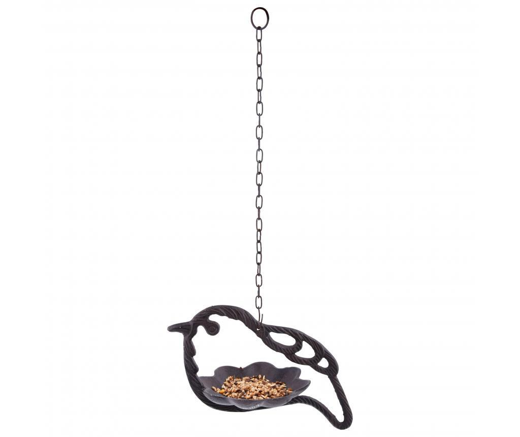Hranitoare pentru pasari - Esschert Design, Maro imagine