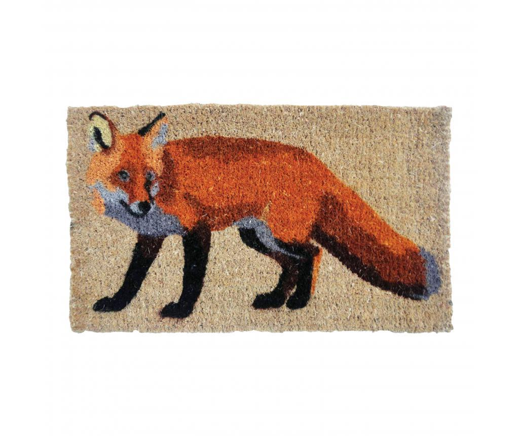 Covoras de intrare Fox - Esschert Design, Multicolor